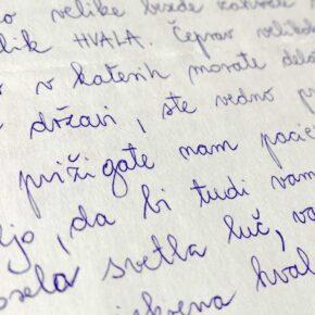 Zahvalno pismo 11